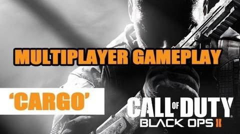 Black Ops 2 multiplayer gameplay - 'Cargo' @ Gamescom 2012