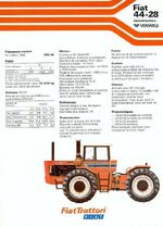 Fiat 44-28 4WD brochure