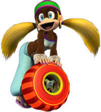 Tiny Kong (Diddy Kong Racing DS)