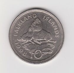 Falklands 10p