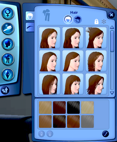 TS3 Hair