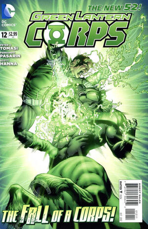 Cover for Green Lantern Corps #12