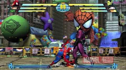 Marvel vs. Capcom 3 Spider-Man Spotlight