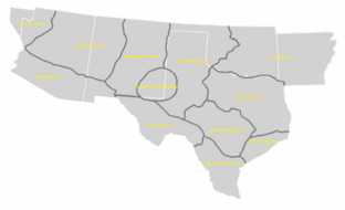 Dioceses of the Curch of Texas