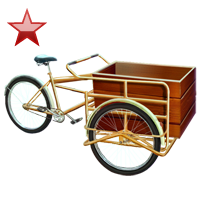 Huge item pedalcart ruby 01