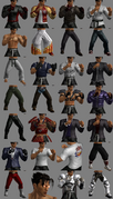 Tekken Tag Tournament 2 Jin Kazama Customization Items