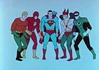 Justice League Filmation Adventures 001