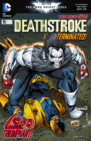 Cover for Deathstroke #11