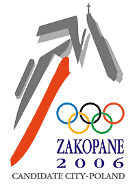 Zakopane 2006 Olympic candidate city bid logo