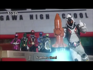 SuperHero Time Gokaiger & Fourze
