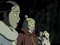 Katara awestruck