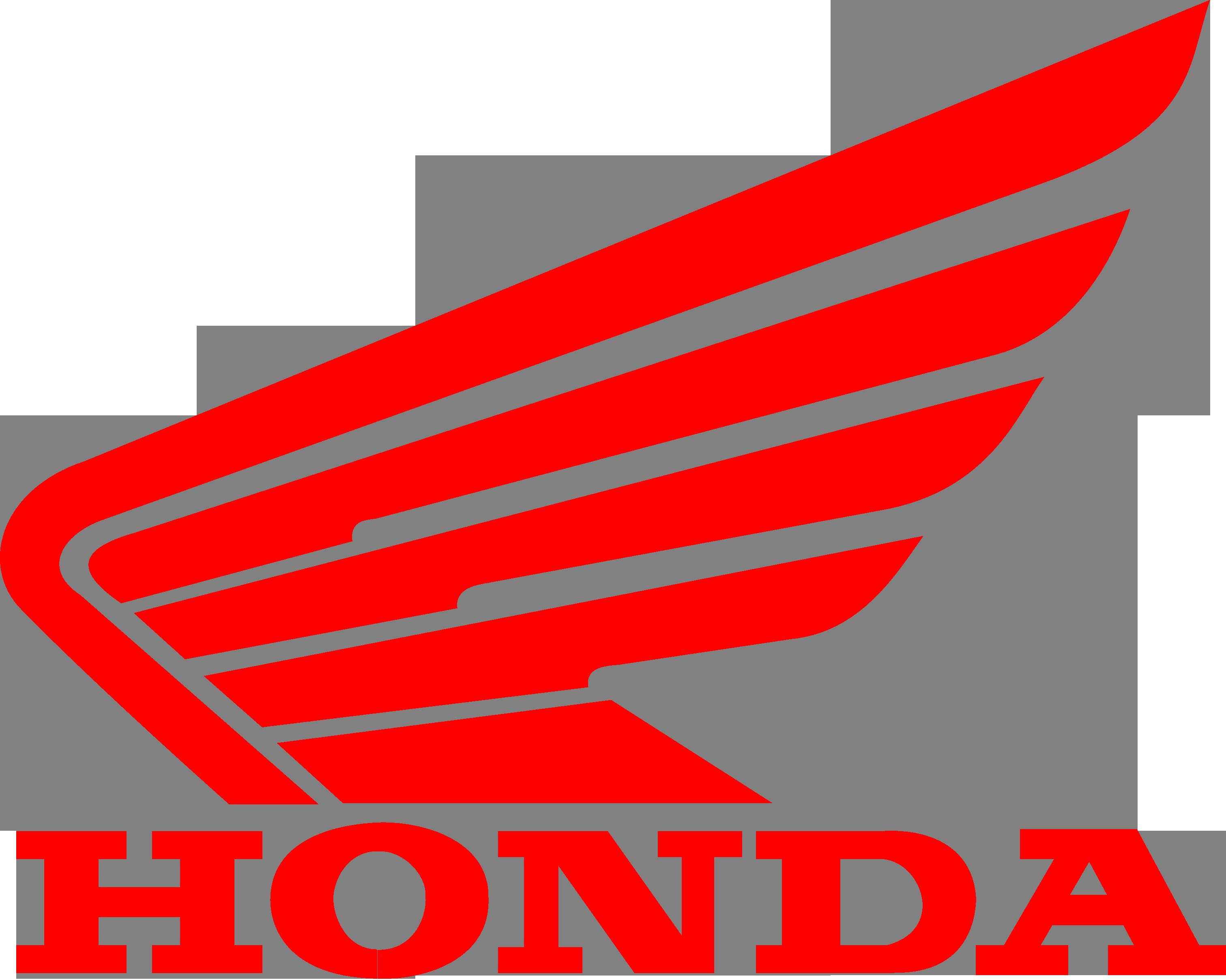 Logo honda rouge - Noir Rouge
