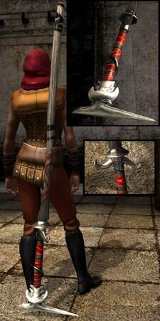 DA2 Acolyte's Staff (Dragon Age II)