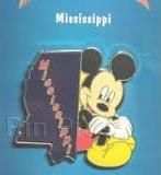 Mississippi Disney Pin