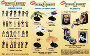 Playmates Star Trek starships and playsets