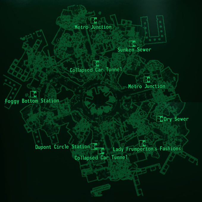Dupont Circle map