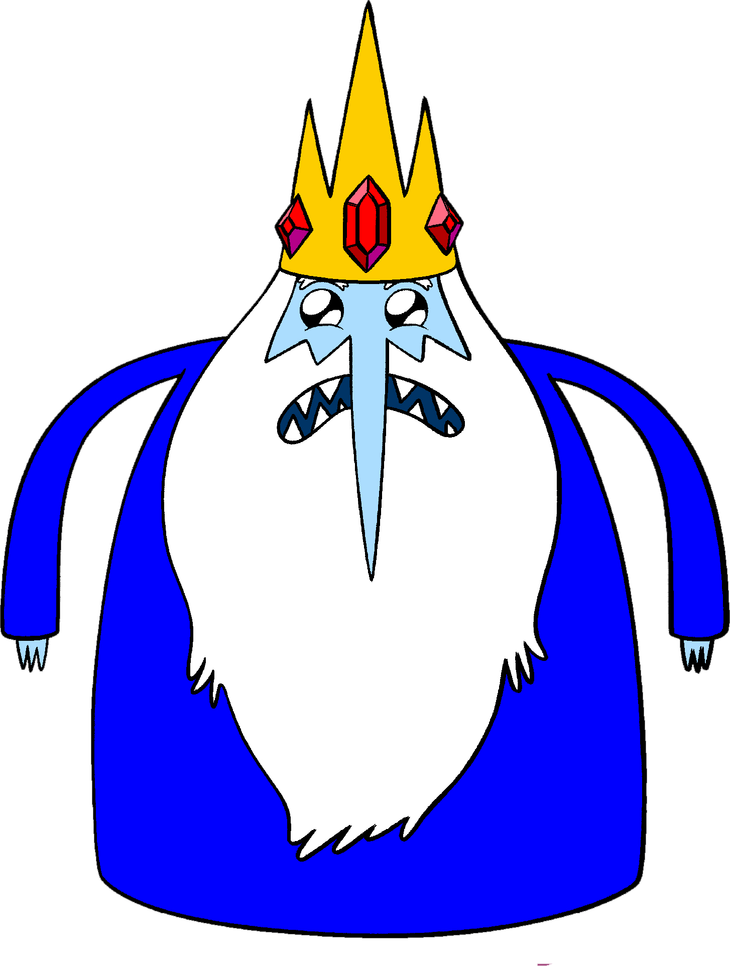 People can relate to as being the antagonist of the show the ice king