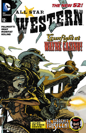 Cover for All-Star Western #12