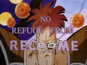 No Refuge from Recoome