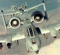 A-10&#39;s over Mexico