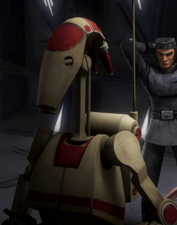 Unidentified OOM security battle droid 5 (Citadel)