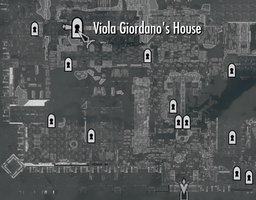 Viola Giodano's House Map