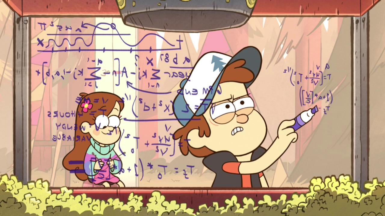 Gravity Falls Dipper Pines Characters