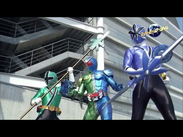 Shiken Blue, Green, & Cyclone Trigger