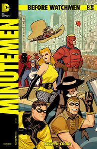 Before Watchmen Minutemen Vol 1 3 Variant A