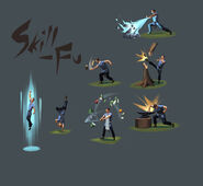 Skill-Fu concept art full