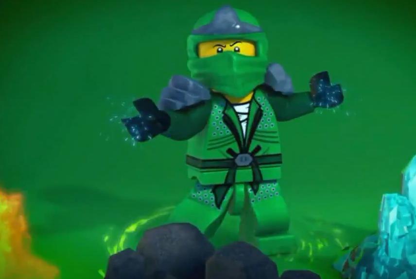 Ninjago Golden Ninja Wallpaper Ninjago Green Ninja Lloyd