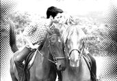 Seddie on Horses Kissing
