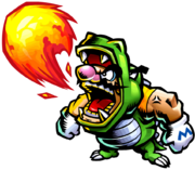 Dragon Wario Artwork (Wario Master of Disguise)