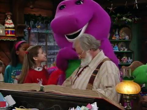 Hey Santa Claus - Barney Wiki