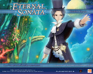 Eternal Sonata Promotional Wallpaper - Frederic