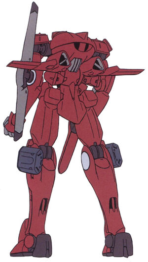 AEU Hellion Ground Type Red Rear