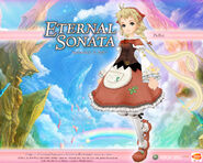 Eternal Sonata Promotional Wallpaper - Polka (Xbox 360)