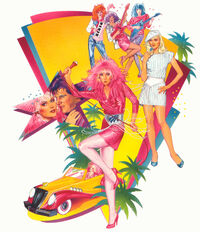 Jem and Holograms concept art