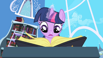Twilight looking for Elements entry in book S1E01