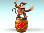 Diddy Kong Charged
