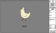 Modelsheet chicken