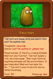 New Tall-nut almanac