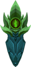 Guthix kiteshield detail