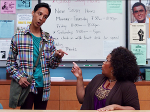 Abed and Shirley