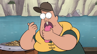 S1e2 soos wiping fish food