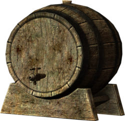 Black briar mead keg