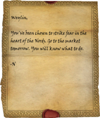 Weylin's Note