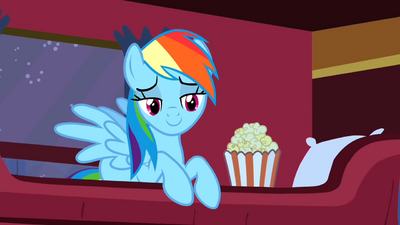 Rainbow Dash Popcorn 1 S1E21