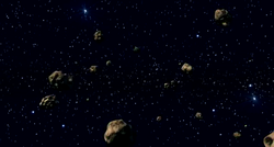 Tatooine asteroid field