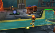 Ratchet Secret Agent Clank prison showers